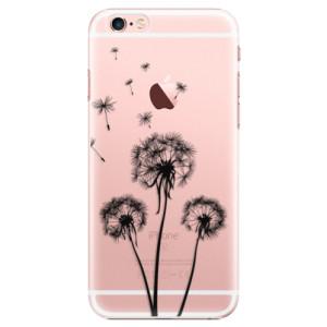 Plastové pouzdro iSaprio Three Dandelions black na mobil Apple iPhone 6 Plus/6S Plus
