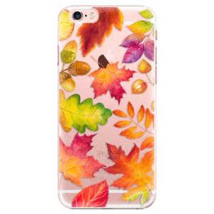 Plastové pouzdro iSaprio Autumn Leaves 01 na mobil iPhone 6 Plus/6S Plus