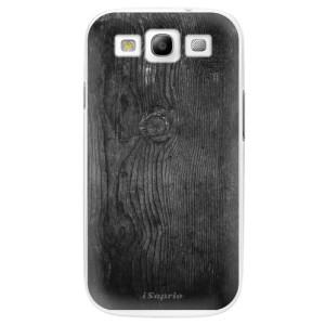 Plastové pouzdro iSaprio Black Wood 13 na mobil Samsung Galaxy S3