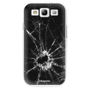 Plastové pouzdro iSaprio Broken Glass 10 na mobil Samsung Galaxy S3