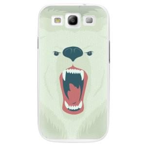 Plastové pouzdro iSaprio Angry Bear na mobil Samsung Galaxy S3
