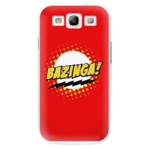 Plastové pouzdro iSaprio Bazinga 01 na mobil Samsung Galaxy S3