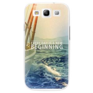 Plastové pouzdro iSaprio Beginning na mobil Samsung Galaxy S3