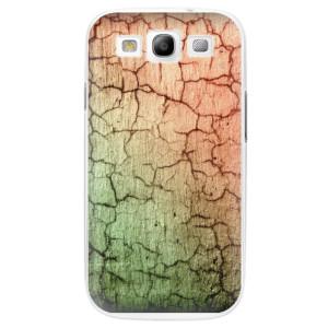 Plastové pouzdro iSaprio Cracked Wall 01 na mobil Samsung Galaxy S3