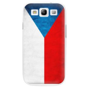 Plastové pouzdro iSaprio Czech Flag na mobil Samsung Galaxy S3