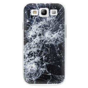 Plastové pouzdro iSaprio Cracked na mobil Samsung Galaxy S3