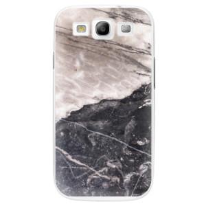 Plastové pouzdro iSaprio BW Marble na mobil Samsung Galaxy S3