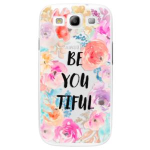 Plastové pouzdro iSaprio BeYouTiful na mobil Samsung Galaxy S3