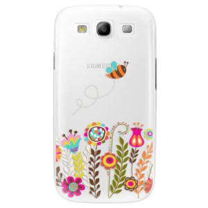 Plastové pouzdro iSaprio Bee 01 na mobil Samsung Galaxy S3