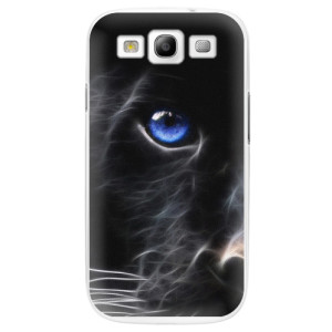 Plastové pouzdro iSaprio Black Puma na mobil Samsung Galaxy S3