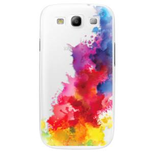 Plastové pouzdro iSaprio Color Splash 01 na mobil Samsung Galaxy S3