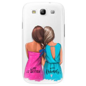 Plastové pouzdro iSaprio Best Friends na mobil Samsung Galaxy S3