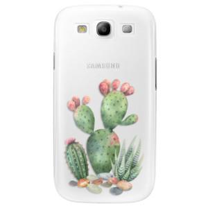 Plastové pouzdro iSaprio Cacti 01 na mobil Samsung Galaxy S3