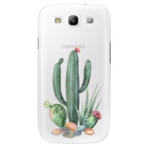 Plastové pouzdro iSaprio Cacti 02 na mobil Samsung Galaxy S3