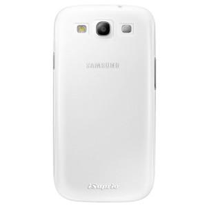 Plastové pouzdro iSaprio 4Pure mléčné bez potisku na mobil Samsung Galaxy S3