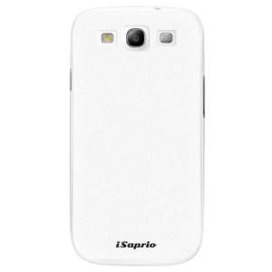 Plastové pouzdro iSaprio 4Pure bílé na mobil Samsung Galaxy S3