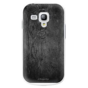 Plastové pouzdro iSaprio Black Wood 13 na mobil Samsung Galaxy S3 Mini
