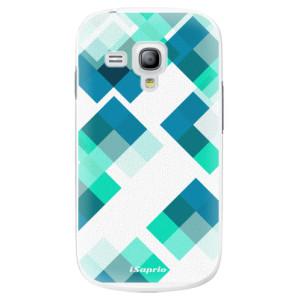 Plastové pouzdro iSaprio Abstract Squares 11 na mobil Samsung Galaxy S3 Mini