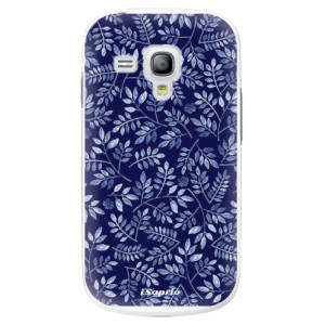 Plastové pouzdro iSaprio Blue Leaves 05 na mobil Samsung Galaxy S3 Mini