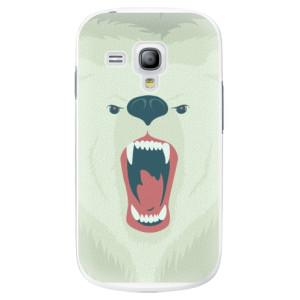 Plastové pouzdro iSaprio Angry Bear na mobil Samsung Galaxy S3 Mini
