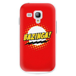 Plastové pouzdro iSaprio Bazinga 01 na mobil Samsung Galaxy S3 Mini