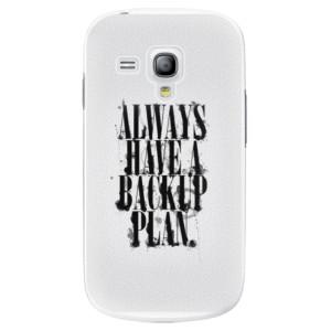 Plastové pouzdro iSaprio Backup Plan na mobil Samsung Galaxy S3 Mini