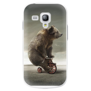 Plastové pouzdro iSaprio Bear 01 na mobil Samsung Galaxy S3 Mini