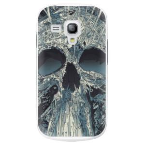 Plastové pouzdro iSaprio Abstract Skull na mobil Samsung Galaxy S3 Mini