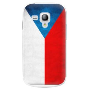 Plastové pouzdro iSaprio Czech Flag na mobil Samsung Galaxy S3 Mini