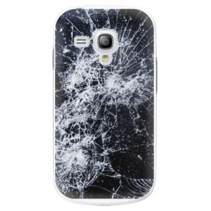 Plastové pouzdro iSaprio Cracked na mobil Samsung Galaxy S3 Mini