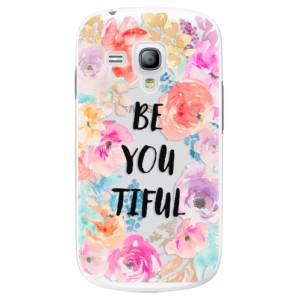 Plastové pouzdro iSaprio BeYouTiful na mobil Samsung Galaxy S3 Mini