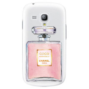 Plastové pouzdro iSaprio Chanel Rose na mobil Samsung Galaxy S3 Mini