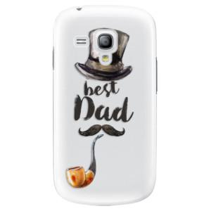 Plastové pouzdro iSaprio Best Dad na mobil Samsung Galaxy S3 Mini