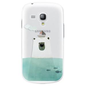 Plastové pouzdro iSaprio Bear With Boat na mobil Samsung Galaxy S3 Mini