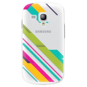 Plastové pouzdro iSaprio Color Stripes 03 na mobil Samsung Galaxy S3 Mini
