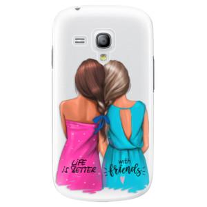 Plastové pouzdro iSaprio Best Friends na mobil Samsung Galaxy S3 Mini