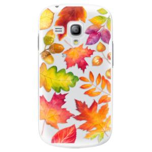 Plastové pouzdro iSaprio Autumn Leaves 01 na mobil Samsung Galaxy S3 Mini