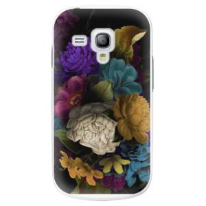 Plastové pouzdro iSaprio Dark Flowers na mobil Samsung Galaxy S3 Mini