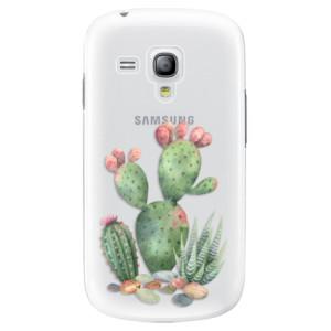 Plastové pouzdro iSaprio Cacti 01 na mobil Samsung Galaxy S3 Mini