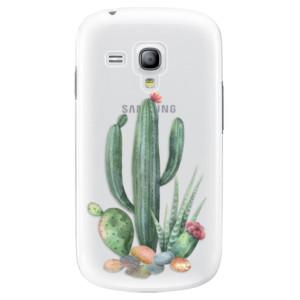 Plastové pouzdro iSaprio Cacti 02 na mobil Samsung Galaxy S3 Mini