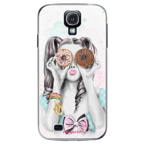 Plastové pouzdro iSaprio Donuts 10 na mobil Samsung Galaxy S4