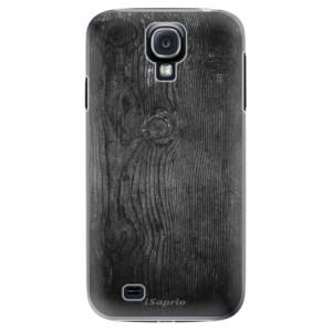 Plastové pouzdro iSaprio Black Wood 13 na mobil Samsung Galaxy S4