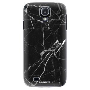 Plastové pouzdro iSaprio Black Marble 18 na mobil Samsung Galaxy S4