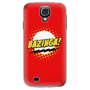 Plastové pouzdro iSaprio Bazinga 01 na mobil Samsung Galaxy S4