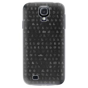 Plastové pouzdro iSaprio Ampersand 01 na mobil Samsung Galaxy S4