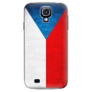 Plastové pouzdro iSaprio Czech Flag na mobil Samsung Galaxy S4