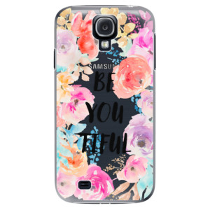 Plastové pouzdro iSaprio BeYouTiful na mobil Samsung Galaxy S4