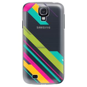 Plastové pouzdro iSaprio Color Stripes 03 na mobil Samsung Galaxy S4