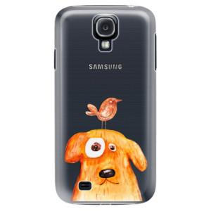 Plastové pouzdro iSaprio Dog And Bird na mobil Samsung Galaxy S4