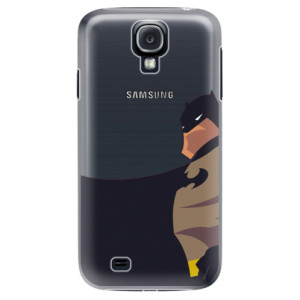 Plastové pouzdro iSaprio BaT Comics na mobil Samsung Galaxy S4